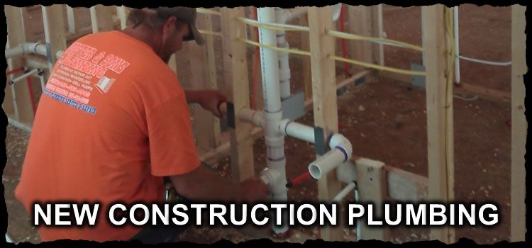 Winston salem nc plumbers winston salem plumbing services for New construction plumbing